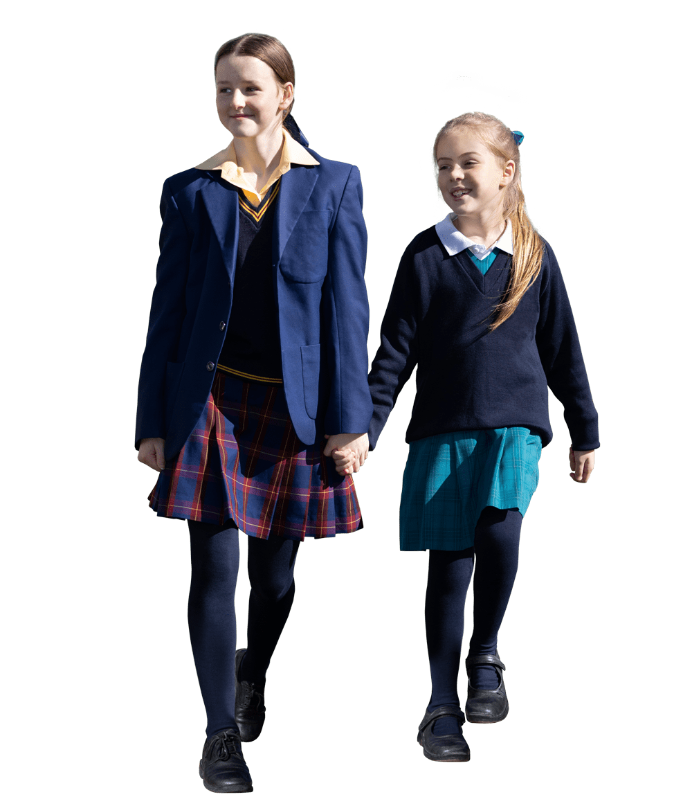 No Fight Tights for a comfortable school uniform experience